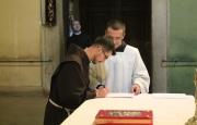 Śluby wieczyste brata Cyryla Kowalczyka
