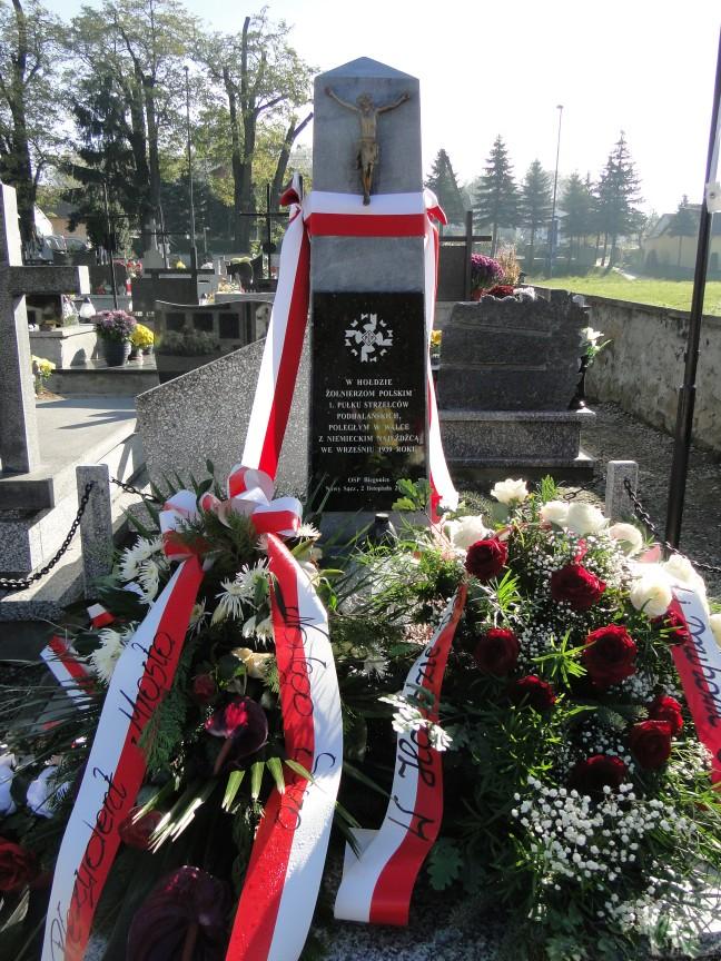 Pomnik żołnierzy Biegonice